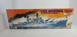 Revell Monogram 1:426 USS Arizona U.S. Navy Battleship Model Kit NEW SEALED!!