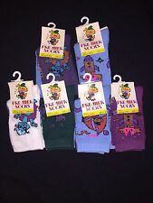12 pairs of Childrens ankle socks blue purple green white kids boy girl 9-12