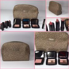 Lancome Cosmetic Make Up Bag Set. 8 Lancome Items included. Amazing DEAL!