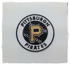 MLB Pittsburgh Pirates Logo Baseball Patch Sew Embroidered Iron On Free Shipping