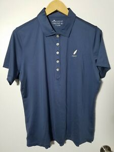 1 NWT PETER MILLAR WOMEN'S POLO, SIZE: X-LARGE, COLOR: NAVY (J149)
