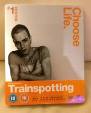 Trainspotting Bluray Steelbook, UK Edition, New/Sealed,  Region B