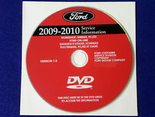 2009 2010 Ford Taurus F-150 F-250 F-350 Diesel Service Shop Repair Manual DVD