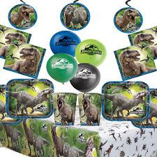 JURASSIC WORLD Kids Dinosauro Festa di compleanno kit party Supplies Jurassic Park