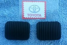 Toyota Corolla KE10 1966 to 1970 Brake and Clutch Pedal Rubber Pads new pair