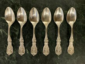 EXCELLENT OM REED /& BARTON FRANCIS 1ST STERLING SILVER ICED TEA SPOON