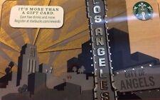 STARBUCKS LOS ANGELES CA GIFT CARD CITY OF ANGELES 2014