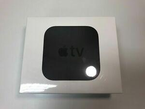Apple TV 64GB 4K HD Media Streamer - Black (MP7P2LL/A) - Brand New Sealed