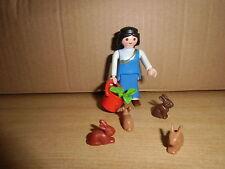 Playmobil BELEN, FIGURAS,ACCESORIOS, ALDEANA, ANIMALES