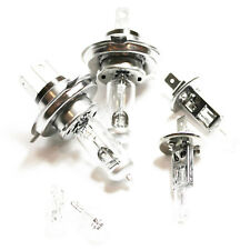 Fits Honda Jazz MK2 55w Clear Xenon HID High/Low/Fog/Side Headlight Bulbs Set