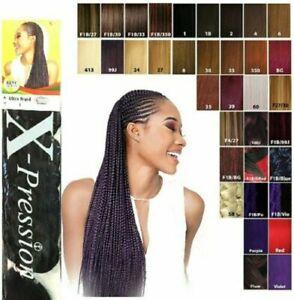 X-pression Ultra and Lagos Braids Braiding Hair Extensions Original 🤩