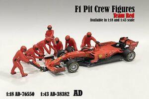 FORMULA ONE F1 PIT CREW TEAM 1/43 scale DIECAST ACCS AMERICAN DIORAMA 38382
