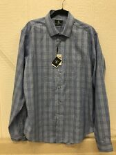 New~Men's Calvin Klein Dress Shirt Slim Fit Non-Iron XL 17.5/36-37