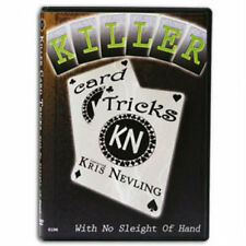 Killer Card Tricks With No Sleight of Hand - DVD - Magic Tricks - New