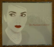 MARIA CALLAS The Platinum Collection 3 CD Pack with Booklet