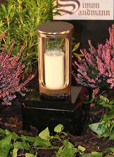 Grablampe   Grablaterne   Grabschmuck   Grablicht aus Bronze ->NEU<-
