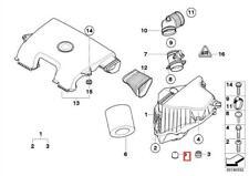 BMW Air Filter Housing Box Rubber Mount Buffer 7539903 13717539903