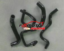 BLACK KIT For Ford Falcon BA BF XR6 Turbo 4.0L 2002-2008 Silicone Radiator Hose