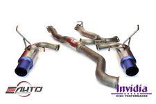INVIDIA N1 / G5 *Dual Tip Full Titanium *18lbs Catback Exhaust for WRX STI 15-18