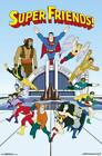Super Friends Superheros 34x22.5 Animated TV Show Art Print Poster