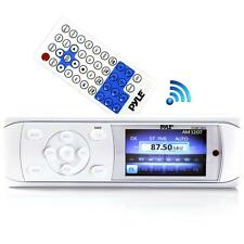 Bluetooth Marine Stereo Radio Receiver Water-Resistant 3'' Color LCD Display