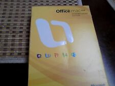 Genuine Microsoft Office 2008 Home and Student Edition for Mac - 3 User
