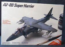 AV-8B Super Harrier model plane kit from Testors, (1984) NIB Sealed