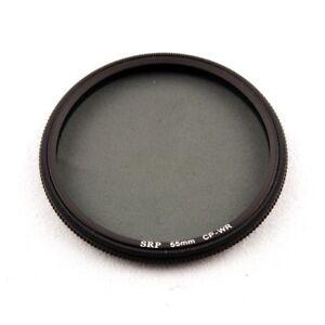 SRP 55 mm water repelling CP Circular Polariser filter **UK**