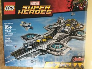 """""""Free shipping, Brand new"""" - LEGO 76042 The Shield Helicarrier"""
