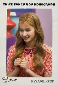 ✨SANA 사나✨ TWICE FANCY YOU MONOGRAPH - 1 PIECE OFFICIAL PHOTO CARD ONLY