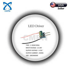 High Power Driver Supply AC 12-24V DC 3-11V 430MA MR16 3W Constant Current LED