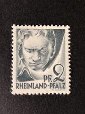 GermanyRheinland-Plafz Beethoven 2PF. MNH