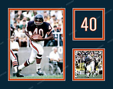 GALE SAYERS Photo Picture Collage CHICAGO BEARS Football Print 8x10 11x14 16x20