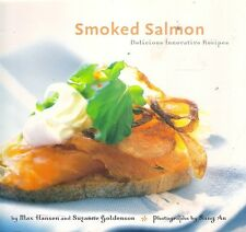 Max Hansen SMOKED SALMON recipes canapes hors d'oeuvres salads caviar