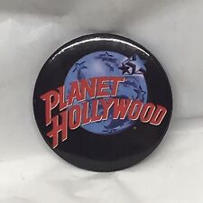 """Vintage Planet Hollywood Button Pin collectible 2"""""""