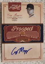 New York Mets Cory Mazzoni Signed 2011 Playoff Prime Cuts Auto Card #03/99