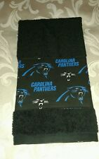 Carolina Panthers Hand Towel  Handmade  GREAT GIFT!!!!