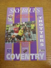 16/03/1996 Coventry City v Bolton Wanderers  . Thanks for viewing this item, buy