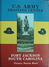 1995 FORT JACKSON US ARMY TRG CTR CLASS BK - 4TH BRIG/2ND BATT/39TH INF REG/D CO