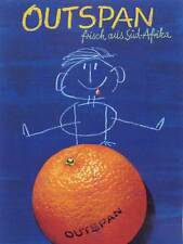 ADVERT OUTSPAN ORANGE FRUIT SOUTH AFRICA AUSTRIA POSTER ART PRINT BB2160A