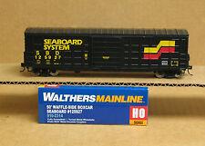 Walthers 910-2314 HO Seaboard (SBD) 50' waffle-side boxcar #125927