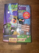 WowWee Fingerlings Grimlings Scaredy Cat Interactive Toy Animal Pet Kids NEW
