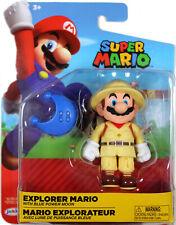 World of Nintendo ~ EXPLORER MARIO (WAVE 15) ACTION FIGURE ~ Super Mario