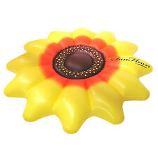 "Swimline Giant Inflatable 72"" Sunflower Island Swimming Pool Raft Float 