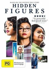HIDDEN FIGURES -KEVIN COSTNER TRUE STORY GENUINE RELEASE Region 4 DVD NEW SEALED