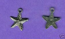 20 wholesale lead free pewter starfish charms 1080