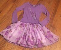 Mignone Toddler Girls Size 4T Adorable L/S Giraffe Dress