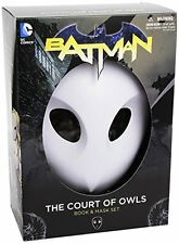 NEW Batman: The Court of Owls Mask and Book Set New 52 the FREE SHIPPING