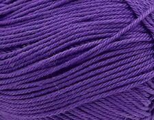 King Cole Giza Cotton 4 Ply 2412 Purple