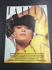 Tatler Magazine feat Diane Lane, February 1985